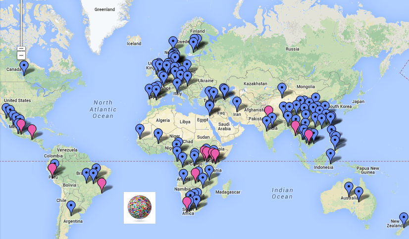 Global Projects Map