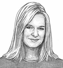 Illustration by WSJ of Anne Rimoin