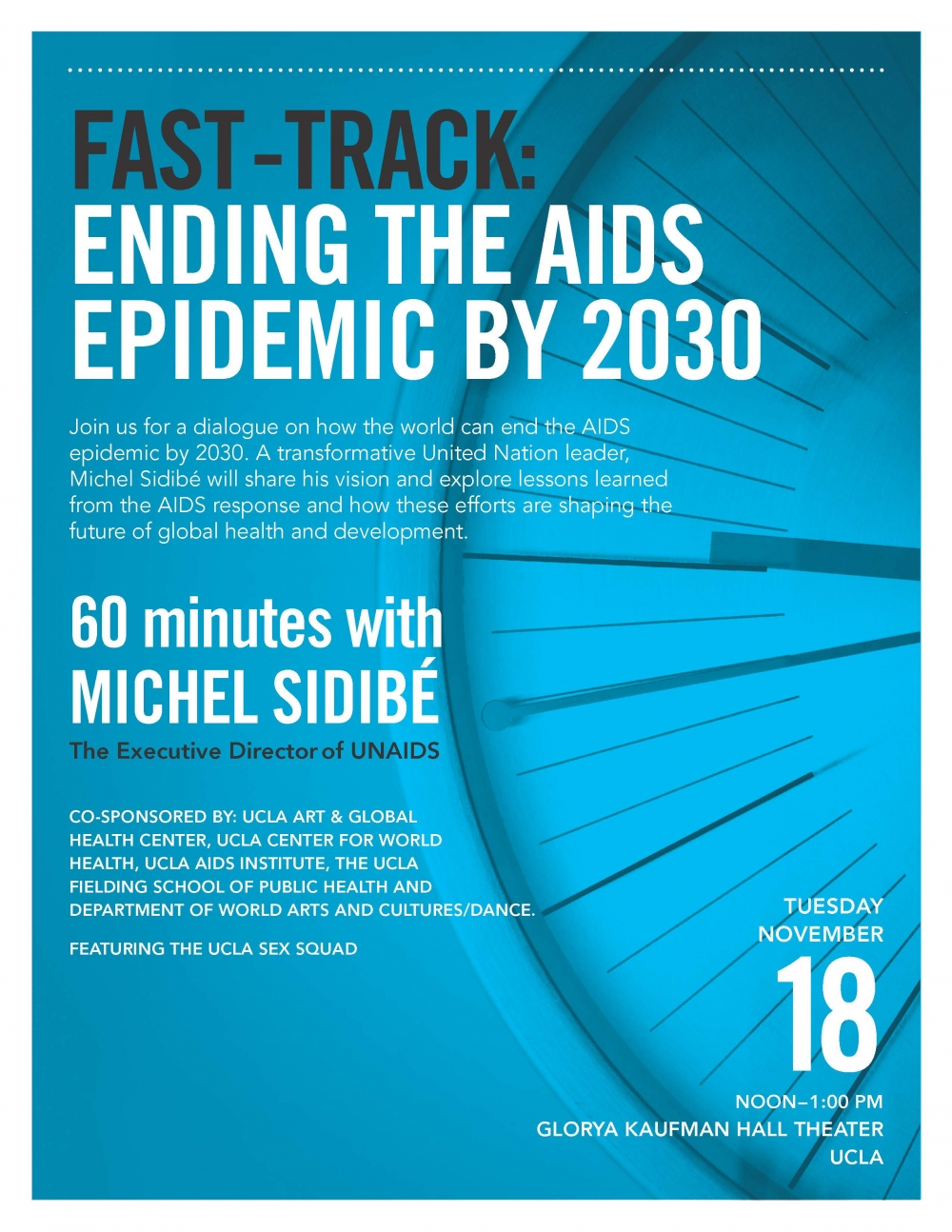 Ending the AIDS Epidemic by 2030 Flyer