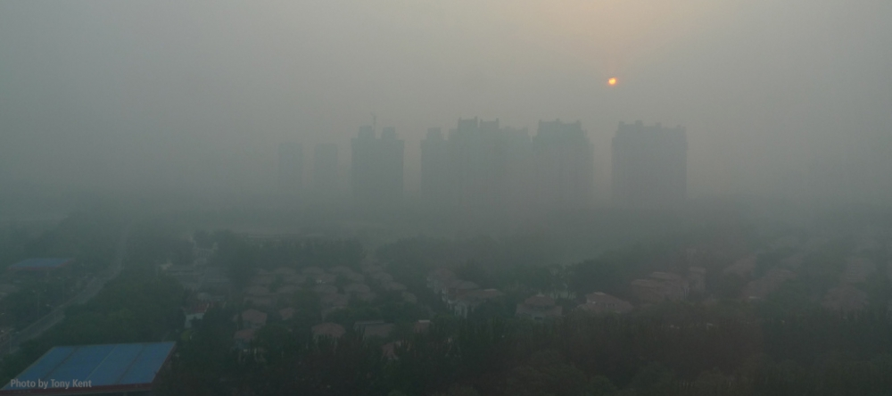 Beijing pollution (Photo by Tony Kent)