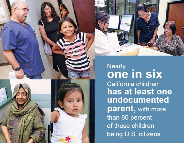 infographic about undocumented parents