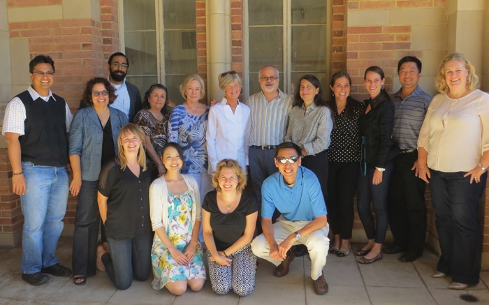 A group of alumni who attended the Alumni Association annual retreat in October 2013.