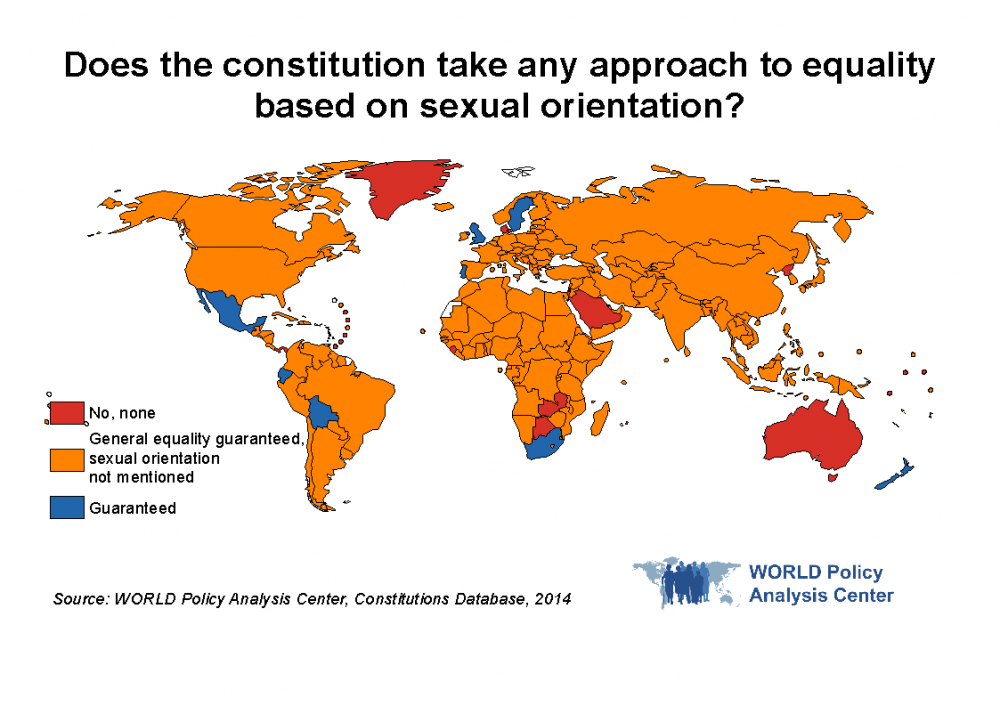 WORLD Equality Map