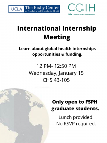 International Internship Meeting