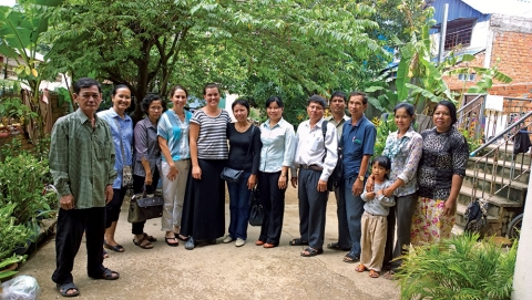 FSPH faculty and students from UCLA/Fogarty Cambodia program