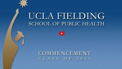 screen grab of Commencement graphic