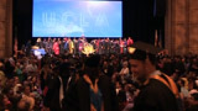 Faculty processional at 2013 FSPH commencement.
