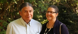 Native American Drs. Emmett Chase and Eva Marie Smith