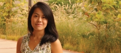 A young woman named Marianne Chen on the UCLA Campus.