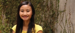 a young woman named Jennifer Xiong at the UCLA Fielding School of Public Health.