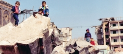 Photos from Gyumri, Armenia, which was devastated by the 1988 Spitak earthquake. Photography by Kariné Armen.