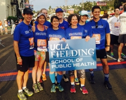 Some of the FSPH runners from the LA Marathon