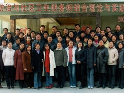 Zhang served as a WHO consultant on the Non-Communicable Diseases (NCDs) Prevention and Control in China and conducted a WHO training workshop on NCD prevention and control in Suzhou, China in 2004.
