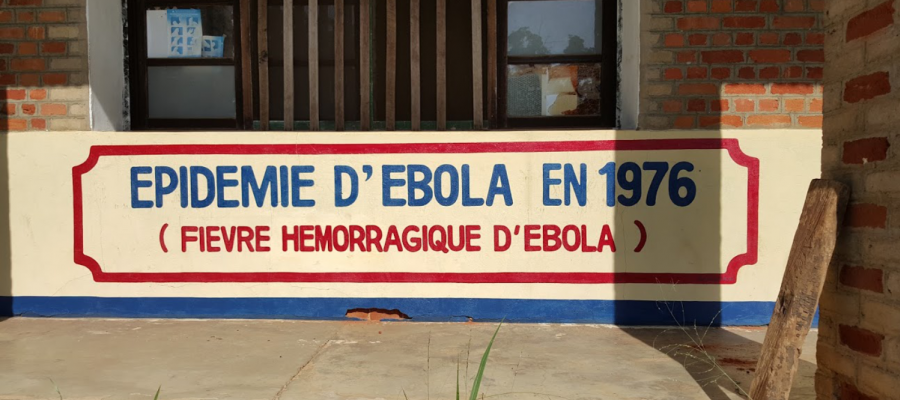 Sign dating the 1976 DRC Ebola Outrbreak
