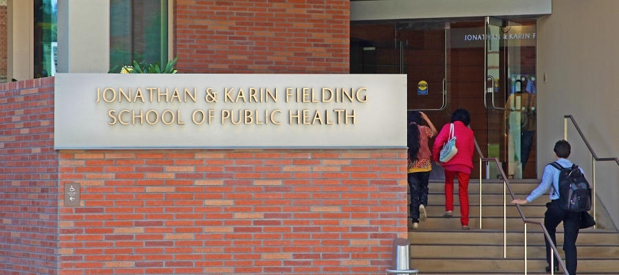 Front entrance of FSPH building