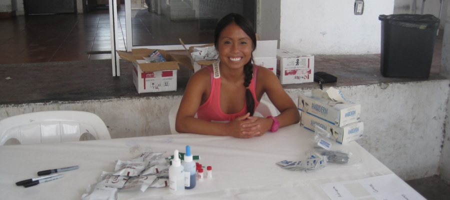 Laura Chan in Mexico